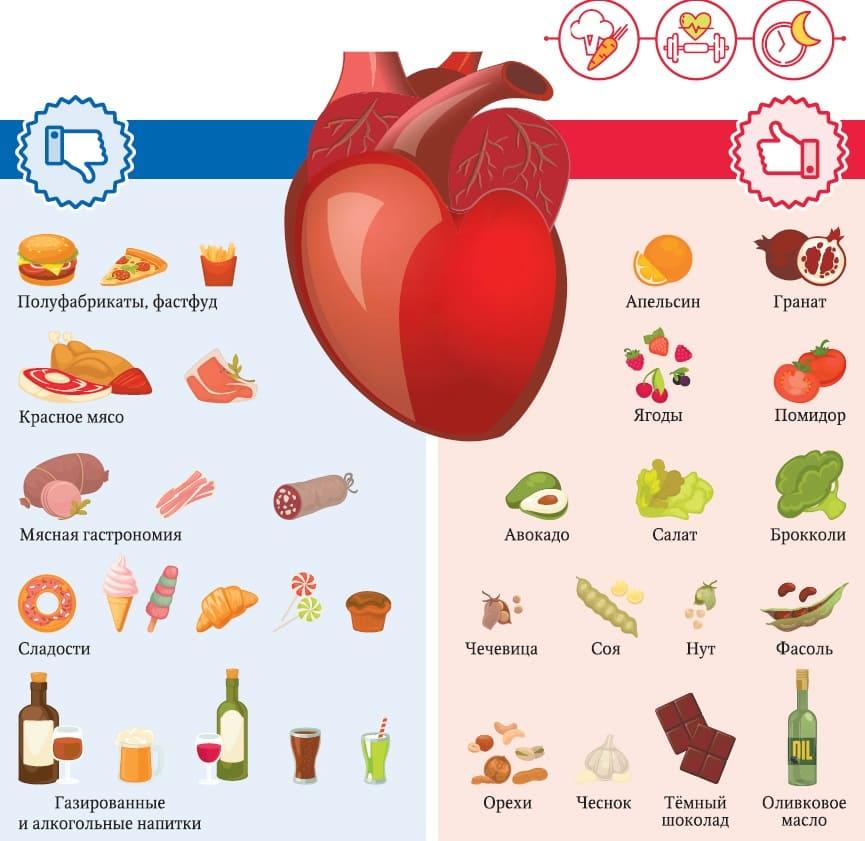 Продукты для сердца. 7 самых полезных и необходимых продуктов!