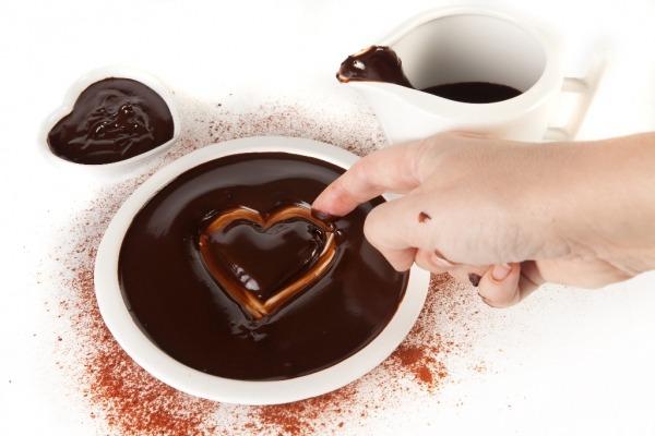 шоколад для сердца очень полезные