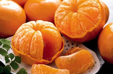 грузинские мандарины