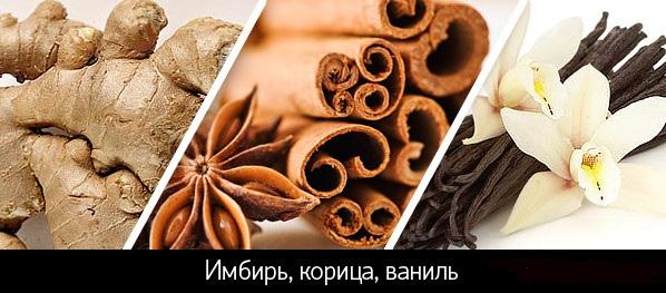 имбирь корица ваниль - супер афродизиаки