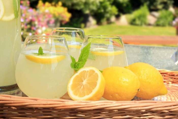 лимонная вода с утра