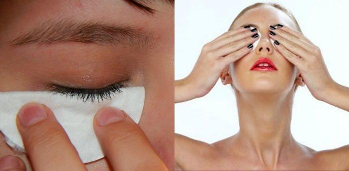 как правильно делать демакияж глаз?