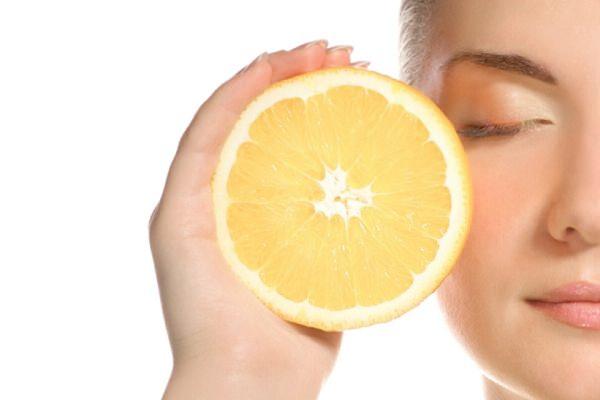 лимон омолаживает кожу