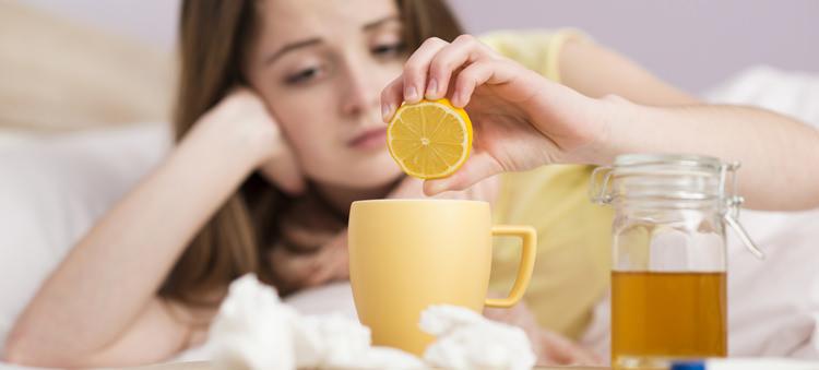 лимонная вода повышает иммунитет