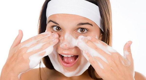 снятие макияжа перед сном