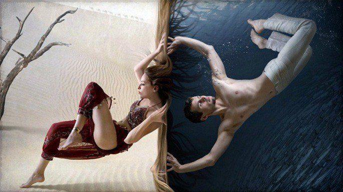 личное пространство мужчины и женщины