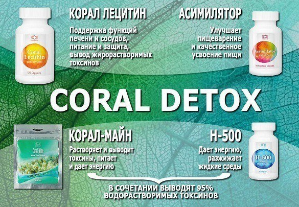 детокс эффективно выводит токсины из организма