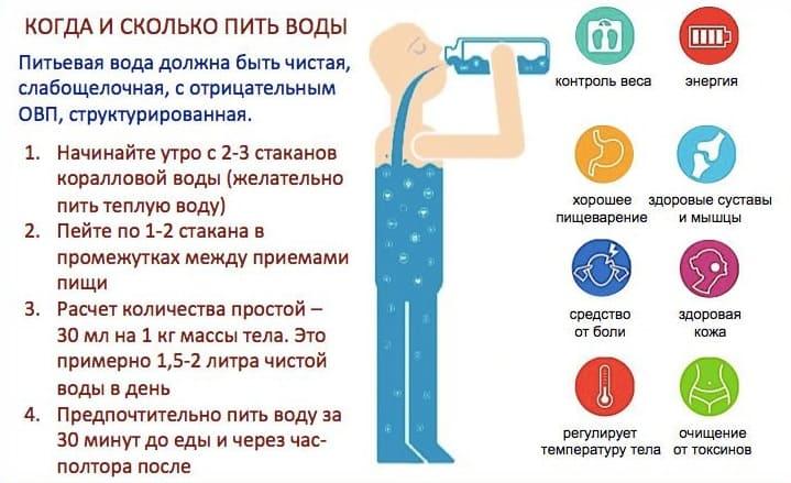 Питьевой режим во время программы Детокс