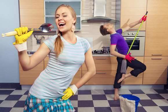 средства уборки за домом