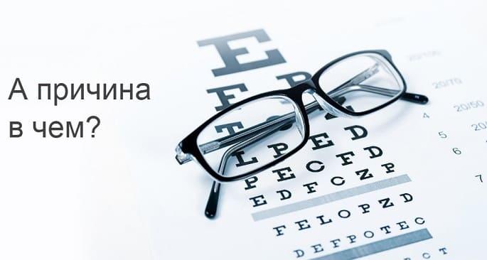 5 причин ухудшения зрения