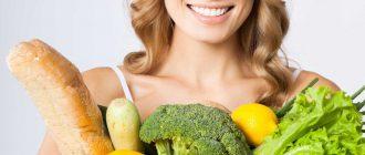 раздельное питание 12 главных принципов таблица